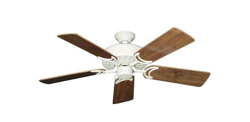 """Picture of Dixie Belle Navajo White with 44"""" Walnut Gloss Blades"""
