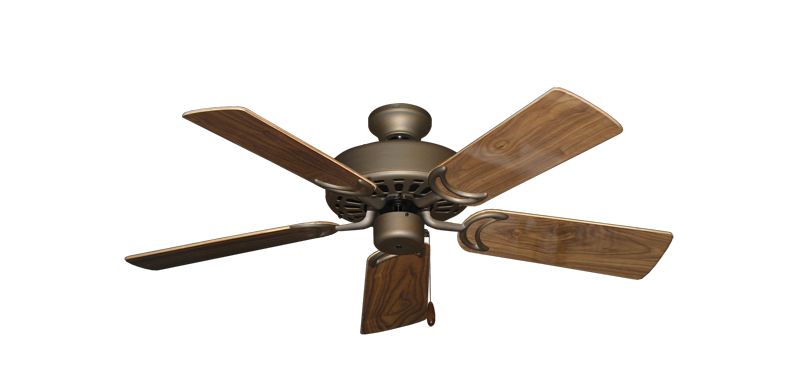 """Picture of Dixie Belle Antique Bronze with 44"""" Walnut Gloss Blades"""