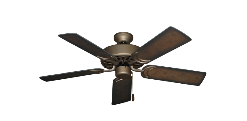 """Dixie Belle Antique Bronze with 44"""" Distressed Hickory Blades"""
