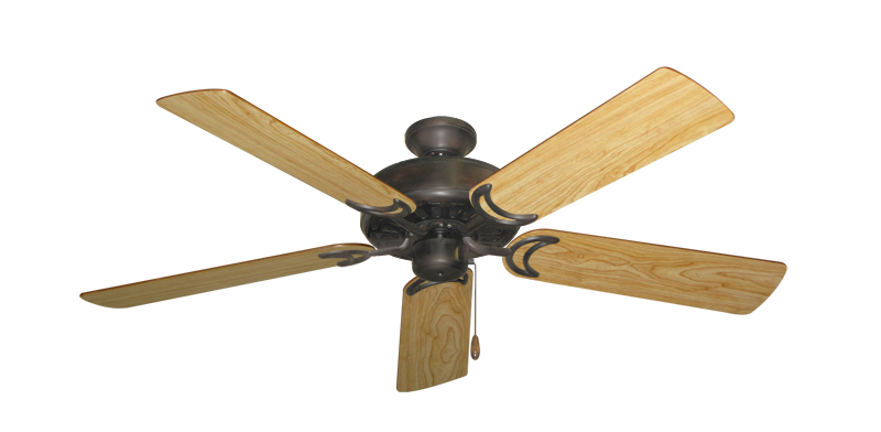 "Picture of Dixie Belle Oil Rubbed Bronze with 52"" Maple Blades"