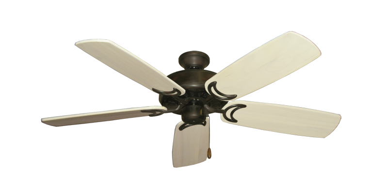 """Dixie Belle Oil Rubbed Bronze with 52"""" Series 425 Arbor Whitewash Blades"""