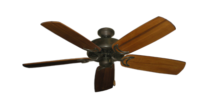 """Picture of Dixie Belle Oil Rubbed Bronze with 52"""" Series 425 Arbor Oak Blades"""