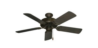 "Picture of Dixie Belle Oil Rubbed Bronze with 44"" Outdoor Oil Rubbed Bronze Blades"