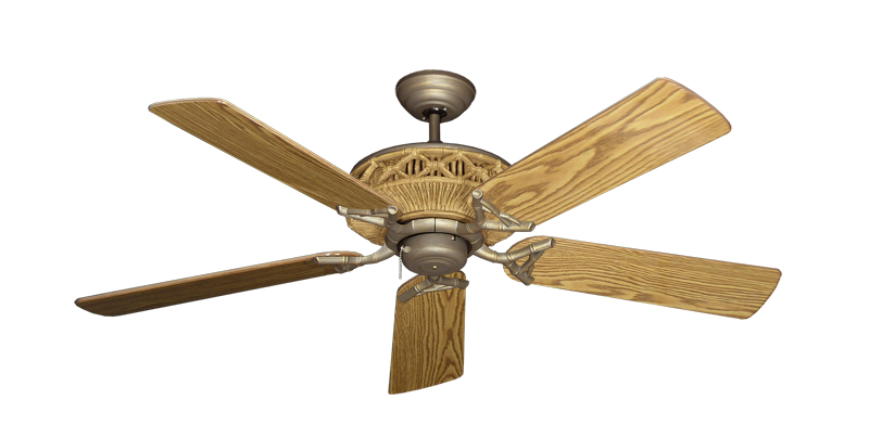 "Picture of Tiki Antique Bronze with 52"" Oak Gloss Blades"