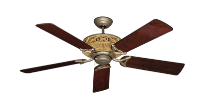 "Picture of Tiki Antique Bronze with 52"" Cherrywood Gloss Blades"