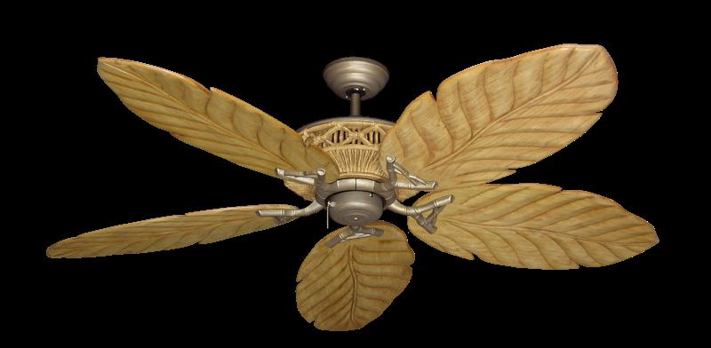 "Picture of Tiki Antique Bronze with 58"" Series 100 Arbor Maple Blades"