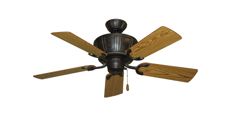 "Picture of Centurion Oil Rubbed Bronze with 44"" Oak Blades"