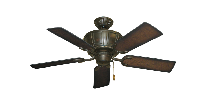 "Picture of Centurion Oil Rubbed Bronze with 44"" Distressed Hickory Blades"