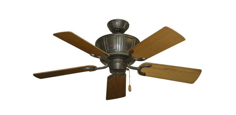 """Picture of Centurion Oil Rubbed Bronze with 44"""" Light Oak Blades"""