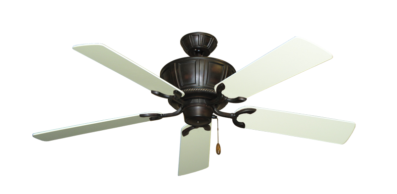 """Picture of Centurion Oil Rubbed Bronze with 52"""" Antique White Blades"""