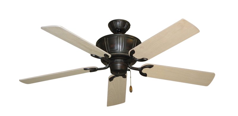 "Picture of Centurion Oil Rubbed Bronze with 52"" Bleached Oak Blades"