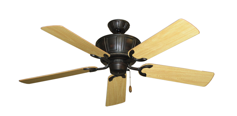 """Picture of Centurion Oil Rubbed Bronze with 52"""" Honey Oak Gloss Blades"""