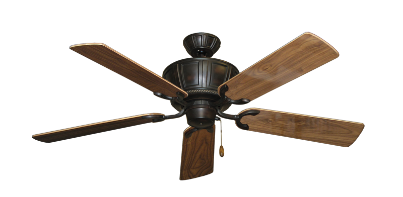"Picture of Centurion Oil Rubbed Bronze with 52"" Walnut Gloss Blades"