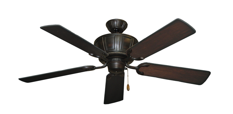 "Centurion Oil Rubbed Bronze with 52"" Distressed Cherry Blades"