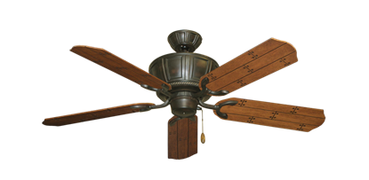 "Picture of Centurion Oil Rubbed Bronze with 52"" Cherry Plank Blades"