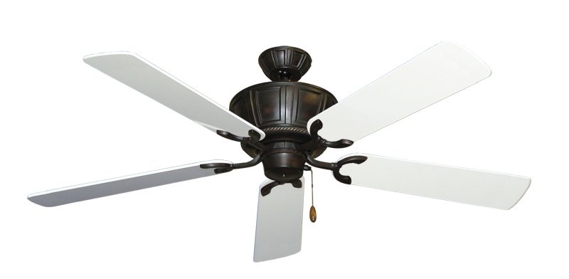 """Picture of Centurion Oil Rubbed Bronze with 56"""" Pure White Gloss Blades"""
