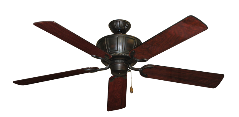 """Picture of Centurion Oil Rubbed Bronze with 56"""" Cherrywood Gloss Blades"""