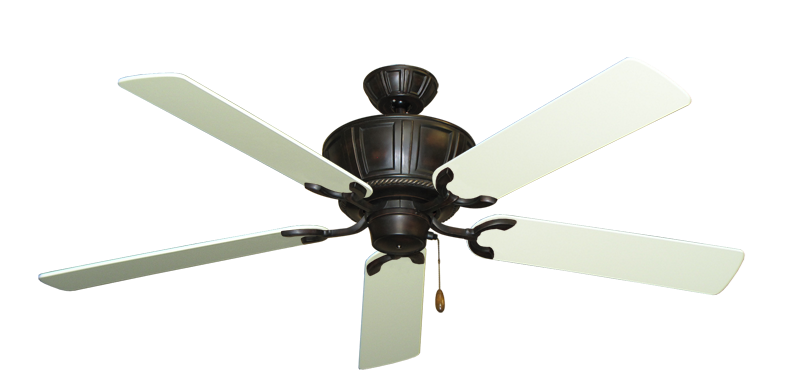"Picture of Centurion Oil Rubbed Bronze with 56"" Antique White Blades"