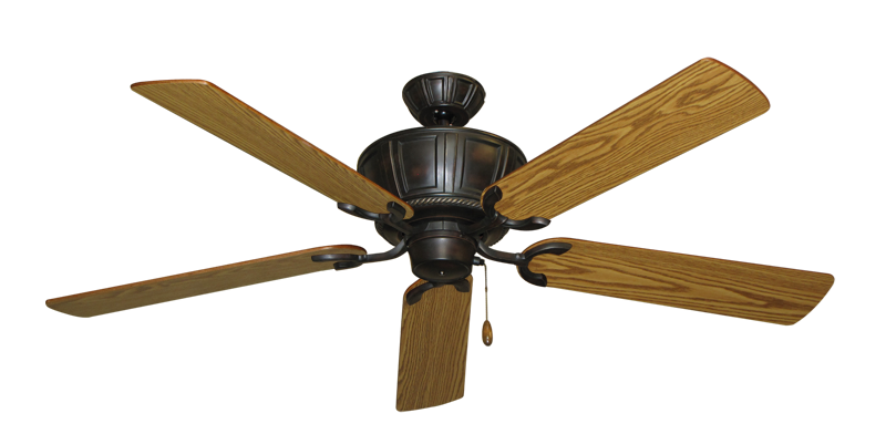 """Picture of Centurion Oil Rubbed Bronze with 56"""" Oak Blades"""