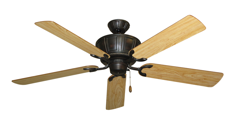 "Centurion Oil Rubbed Bronze with 56"" Maple Blades"
