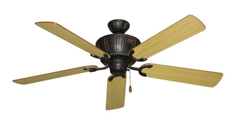 """Picture of Centurion Oil Rubbed Bronze with 56"""" Honey Oak Blades"""