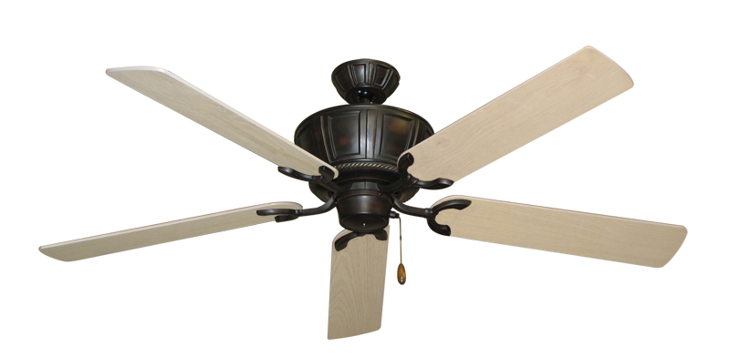 """Picture of Centurion Oil Rubbed Bronze with 56"""" Bleached Oak Blades"""