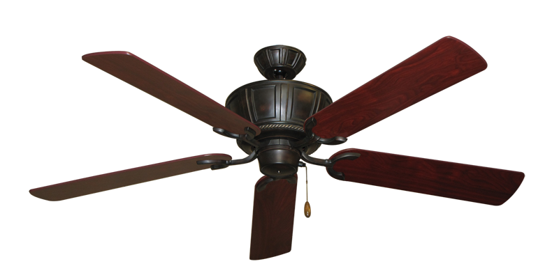 """Picture of Centurion Oil Rubbed Bronze with 56"""" Cherrywood Blades"""