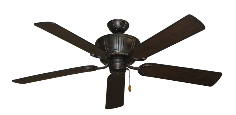 "Picture of Centurion Oil Rubbed Bronze with 56"" Distressed Walnut Blades"