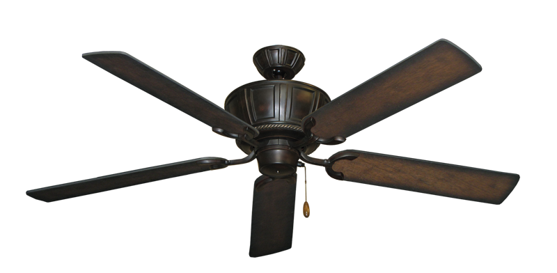 """Picture of Centurion Oil Rubbed Bronze with 56"""" Distressed Hickory Blades"""