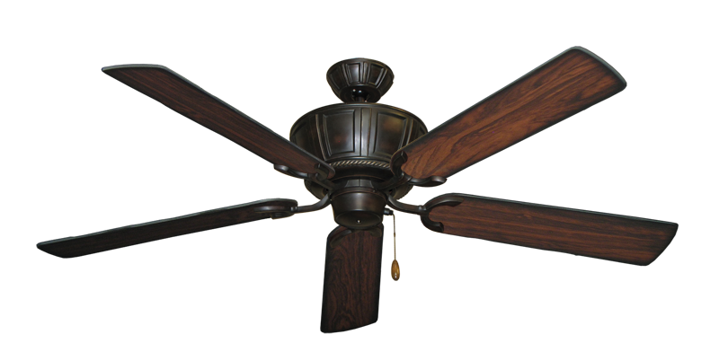 "Picture of Centurion Oil Rubbed Bronze with 56"" Burnt Cherry Blades"