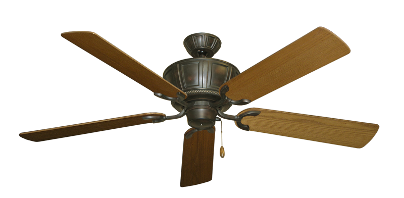 "Picture of Centurion Oil Rubbed Bronze with 56"" Light Oak Blades"