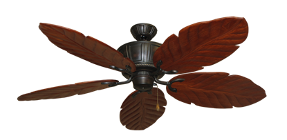 "Centurion Oil Rubbed Bronze with 58"" Series 100 Arbor Cherrywood Blades"
