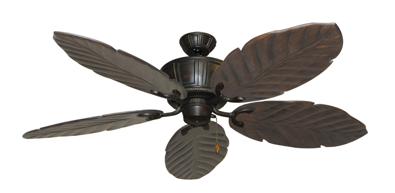 "Picture of Centurion Oil Rubbed Bronze with 58"" Series 100 Arbor Dark Walnut Blades"