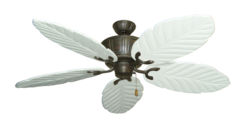 """Picture of Centurion Oil Rubbed Bronze with 58"""" Series 100 Arbor Pure White Blades"""