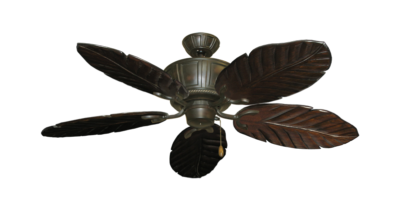 """Centurion Oil Rubbed Bronze with 52"""" Series 125 Arbor Dark Walnut Blades"""