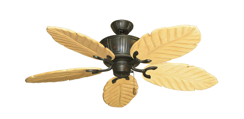"""Centurion Oil Rubbed Bronze with 52"""" Series 125 Arbor Maple Blades"""