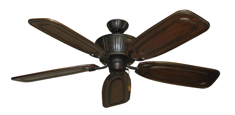 "Centurion Oil Rubbed Bronze with 58"" Series 800 Arbor Chestnut Blades"