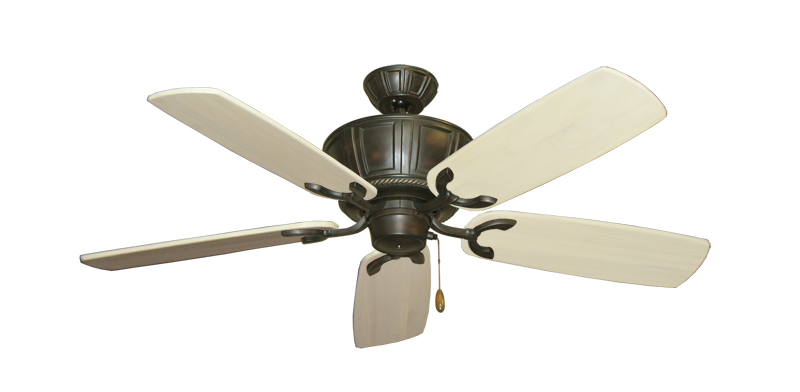"""Picture of Centurion Oil Rubbed Bronze with 52"""" Series 425 Arbor Whitewash Blades"""