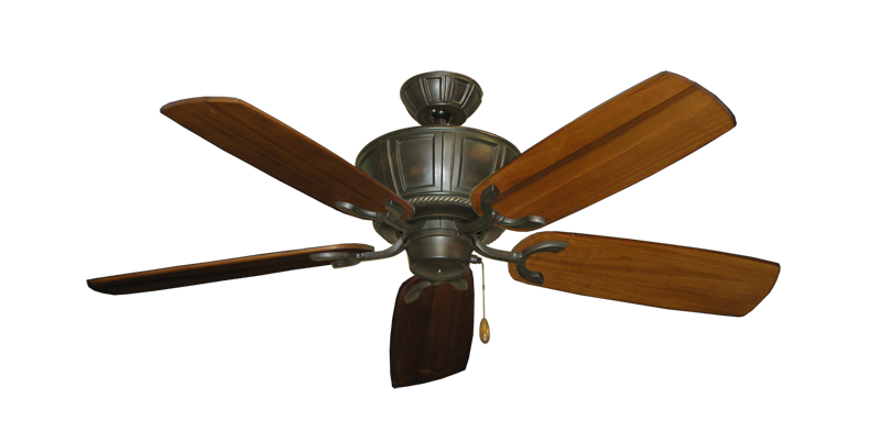 "Centurion Oil Rubbed Bronze with 52"" Series 425 Arbor Oak Blades"