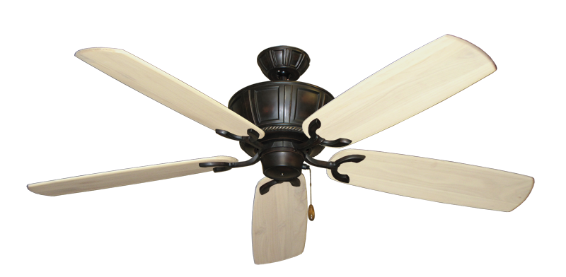 """Picture of Centurion Oil Rubbed Bronze with 60"""" Series 450 Arbor Whitewash Blades"""