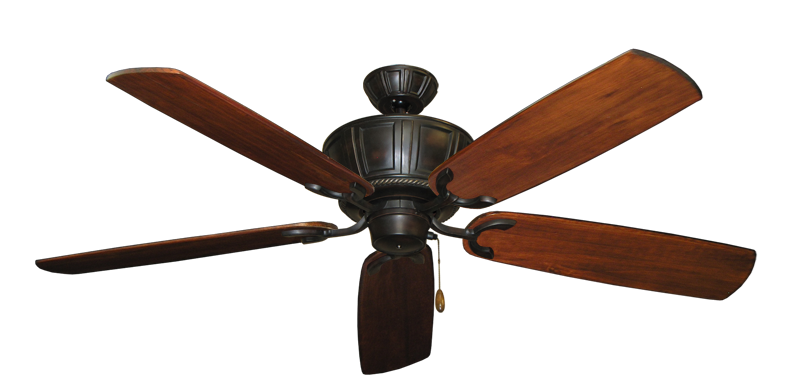 "Picture of Centurion Oil Rubbed Bronze with 60"" Series 450 Arbor Cherrywood Blades"