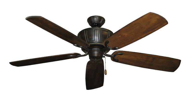 "Picture of Centurion Oil Rubbed Bronze with 60"" Series 450 Arbor Dark Walnut Blades"