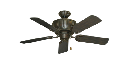 "Centurion Oil Rubbed Bronze with 44"" Outdoor Oil Rubbed Bronze Blades"
