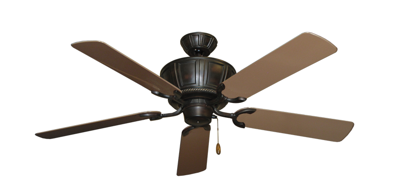 "Picture of Centurion Oil Rubbed Bronze with 52"" Outdoor Brown Blades"