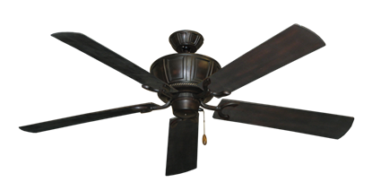 "Centurion Oil Rubbed Bronze with 60"" Outdoor Oil Rubbed Bronze Blades"