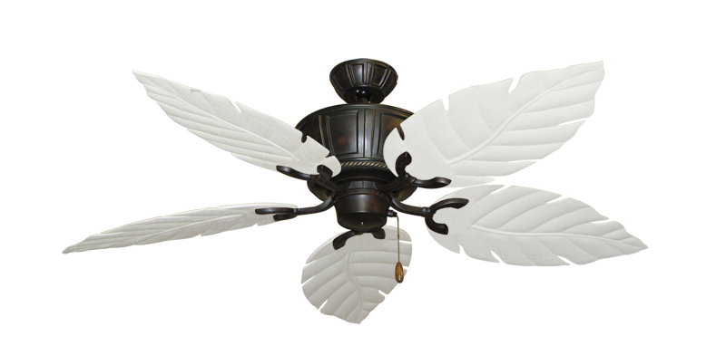"""Picture of Centurion Oil Rubbed Bronze with 52"""" Venetian Pure White Blades"""