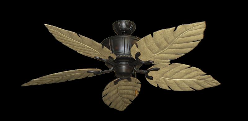"Centurion Oil Rubbed Bronze with 52"" Venetian Walnut Blades"