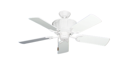 """Centurion Pure White with 44"""" Pure White Gloss Blades"""