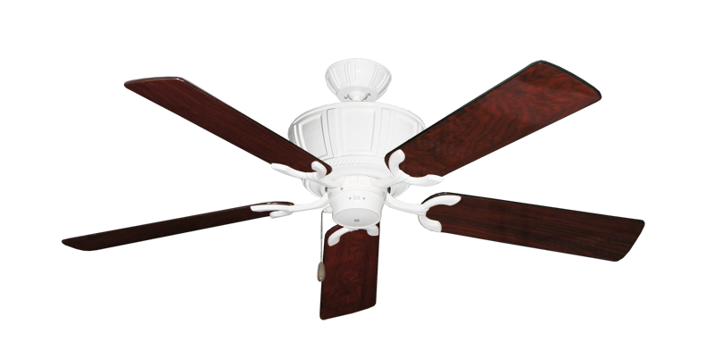 """Picture of Centurion Pure White with 52"""" Cherrywood Gloss Blades"""