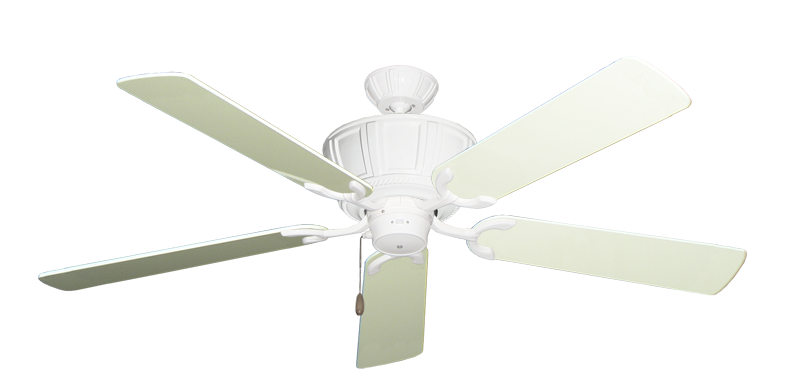 """Picture of Centurion Pure White with 56"""" Antique White Gloss Blades"""